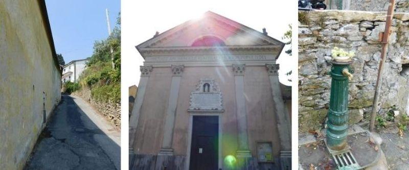 Chiesa San Michele Arcangelo Ruta di Camogli